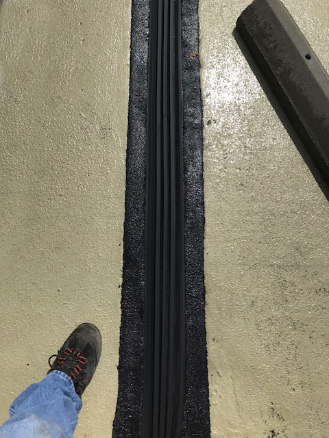 MM System Expansion Joint Install